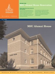 MSU Alumni House - Morgan State University