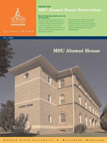 MSU Alumni House - Morgan State University
