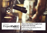State Of The Market: Insights From Project Café 10 Europe