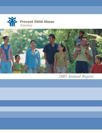 PCA America Annual Report - Prevent Child Abuse America