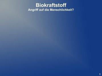 Biokraftstoff - netvent.de