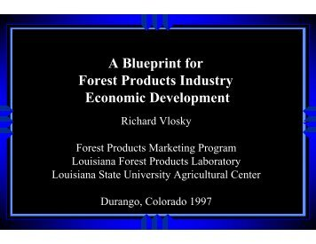 Micro macro economics em1 blueprint a blueprint for forest products industry economic development malvernweather