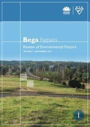Bega - RTA - NSW Government
