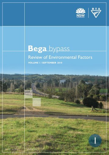 Bega - RTA - NSW Government