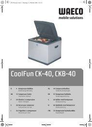 CoolFun CK-40, CKB-40 - Waeco
