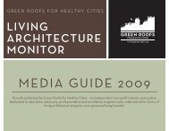 MEDIA GUIDE 2009 - Green Roofs for Healthy Cities