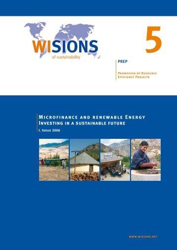 Microfinance and Renewable Energy - The Global Development ...