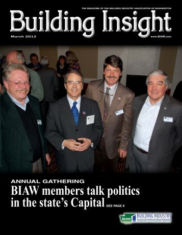 March BI 2012 - Building Industry Association of Washington