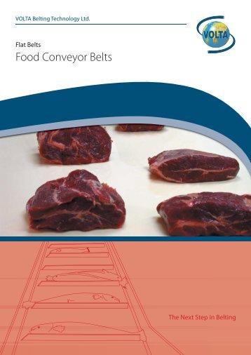 Food Conveyor Belts - Volta Belting Technology Ltd.