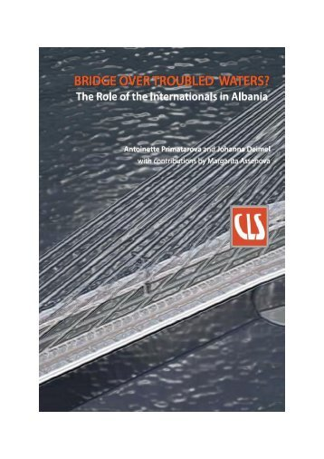 Bridge over Troubled Waters? The Role of the Internationals in ...