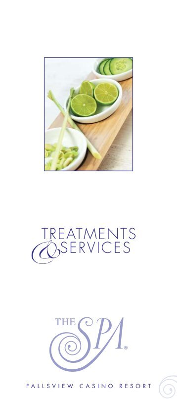 Spa Brochure - Fallsview Casino Resort