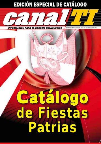 EDICIÓN ESPECIAL DE CATÁLOGO - Canal TI