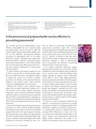Is the pneumococcal polysaccharide vaccine effective ... - somics.info
