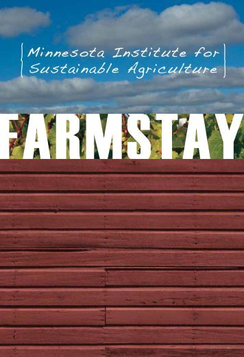 2.05Mb - Minnesota Institute for Sustainable Agriculture - University ...