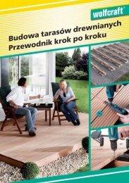Budowa tarasów drewnianych