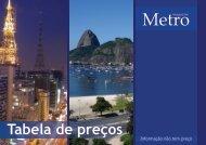 Formatos e Valores - Metro Magazine