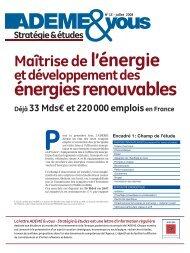 énergies renouvables - Cellule Économique du Bâtiment et des ...