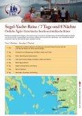 Exklusive Segel-Yacht-Reisen - YKC- Yacht Kauf Charter GmbH - Seite 3