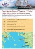 Exklusive Segel-Yacht-Reisen - YKC- Yacht Kauf Charter GmbH - Seite 6