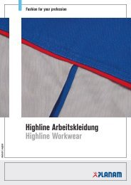 Highline Arbeitskleidung Highline Workwear