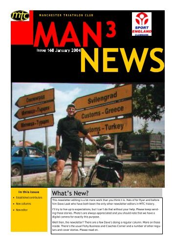 January 2004 Newsletter v1.pub - Manchester Triathlon Club