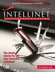 The Smart Choice For All Your Network Solutions! The ... - IC Intracom