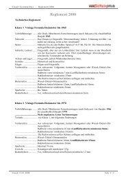 Reglement 2008 - Rennserien-West