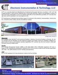 Electronic Instrumentation & Technology, LLC