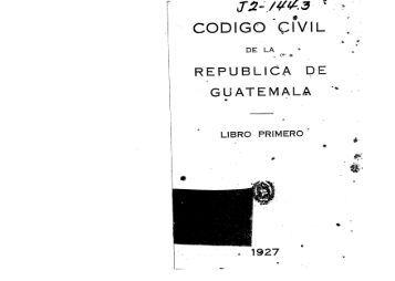 CODIGO CIVIL - Biblioteca OJ