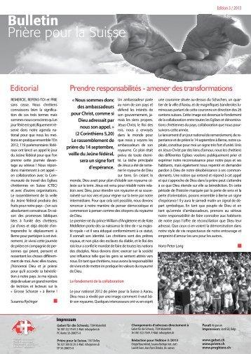 3_2013_Couverture - Gebet für die Schweiz
