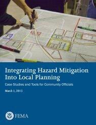 Integrating Hazard Mitigation Into Local Planning - Federal ...
