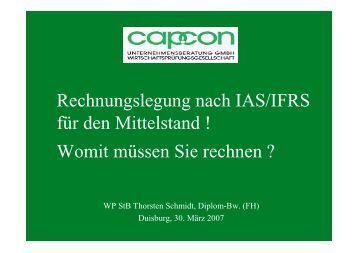 Rechnungslegung nach IAS/IFRS für den ... - 25-jahre-ghp.de