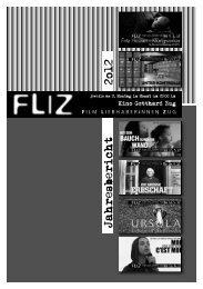 Jahresbericht 2012 - FLIZ