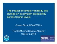 The impact of climate variability and change on ecosystem ... - rargom