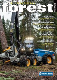 Issue 30 - October/November 2012 - International Forest Industries ...