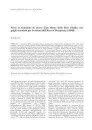 Anteprima INFORMATORE BOTANICO ITALIANO - Società Botanica ...