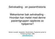 (Microsoft PowerPoint - Selvskading kuttdagene Troms\370- 171007)