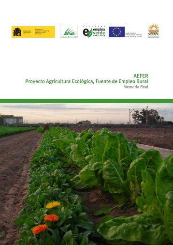 Memoria AEFER final - Sociedad Española de Agricultura Ecológica