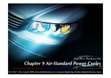 Chapter 9 Air-Standard Power Cycles - Propulsion and Combustion ...