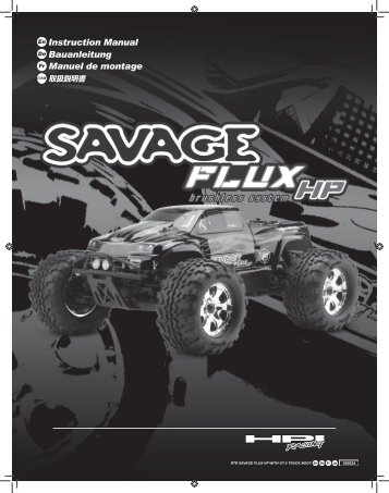 Hpi trophy truggy flux manual download