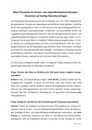 FAQ-Liste - Psychotherapeutenkammer Berlin