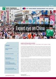 Expert eye on China - Hftfund.com.hk