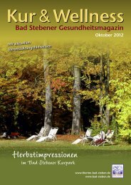 Oktober 2012 - Bad Steben