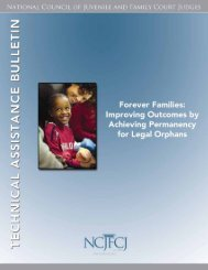 Click here - National Council of Juvenile and Family Court Judges