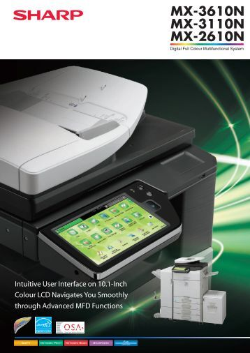 MX3610N Brochure.pdf - Sharp Corporation of Australia