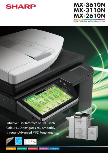 MX3610N Brochure.pdf - Sharp Corporation of Australia