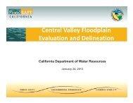 CA DWR_CVFED Presentation - FEMA Region 9