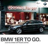 BMW 1er to go. - BMW Niederlassung München