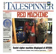 Soviet cipher machine displayed at AFISRA - San Antonio News