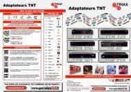 TTr 240 TTr 250 TTr 301 Tdr 210 Tr 40 TTr 320 - Triax